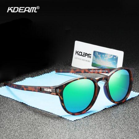 classic round polarized sunglasses