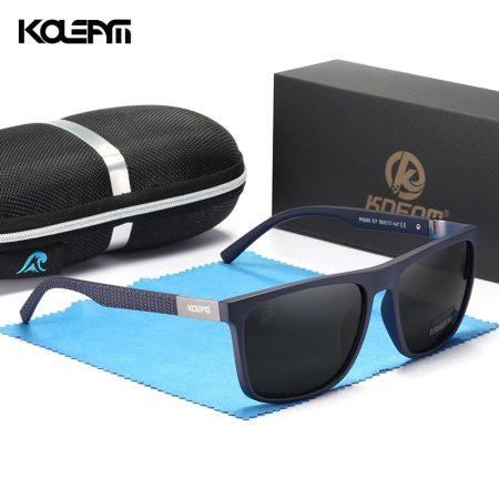 Comfort Soft Black Men Polarized Sunglasses