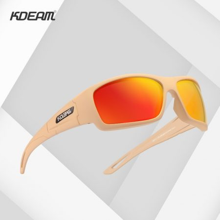 New Sports Polarized Sunglasses Men Multi Layer Coating Lens Sun Glasses