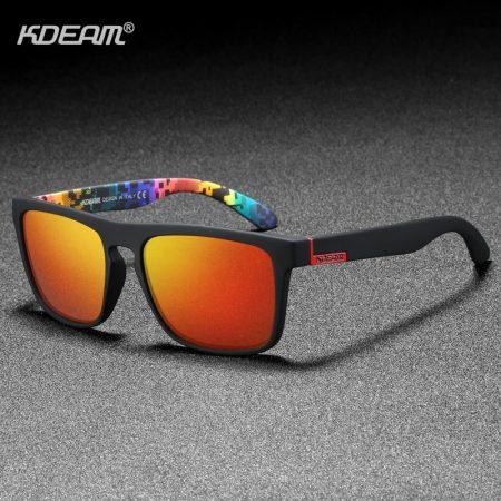 polarized designer square sunglasses
