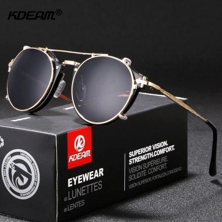 steampunk clip on sunglasses