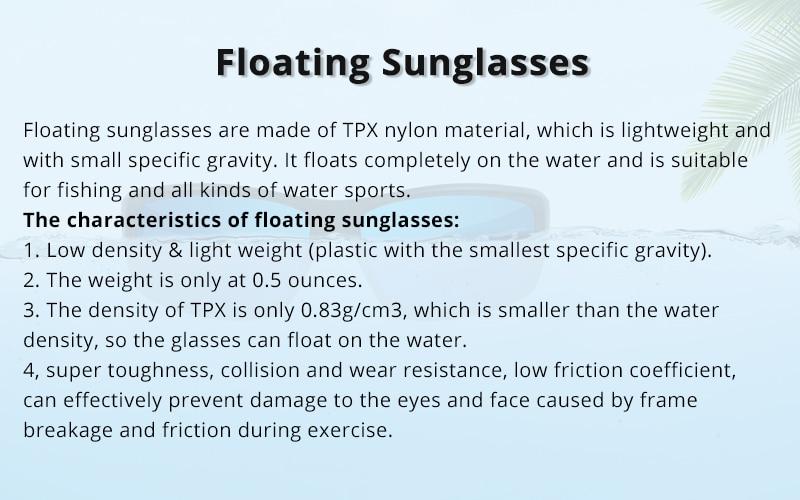 Floating Polarized Sunglasses