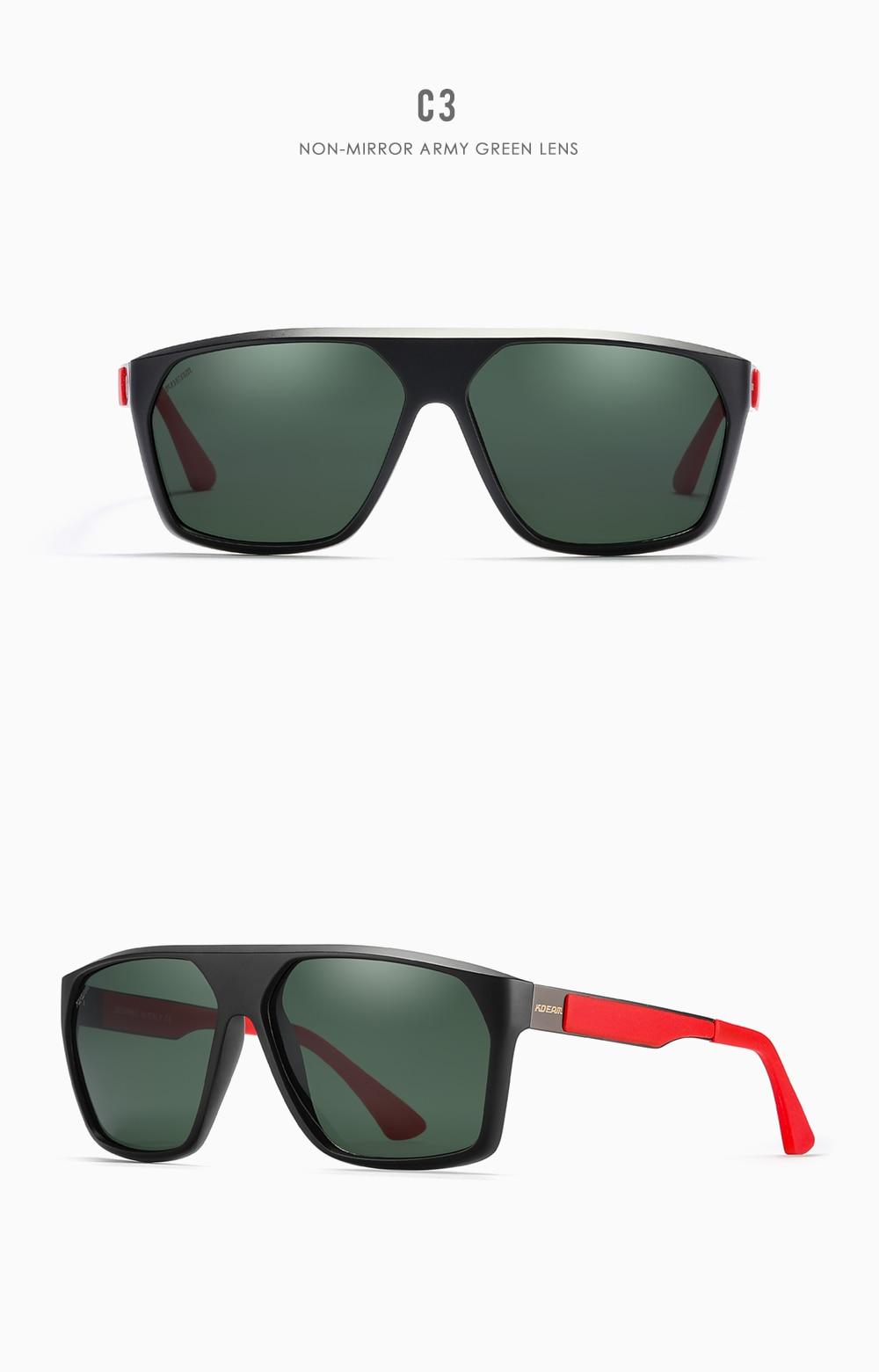 Polarized Sunglasses Cutting Angle