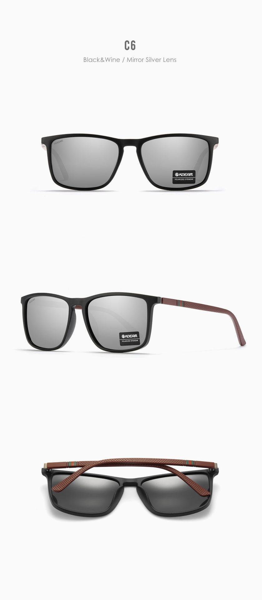New Luxury Polarized Sunglasses Men's