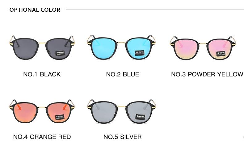 Alloy Retro Sun Glasses