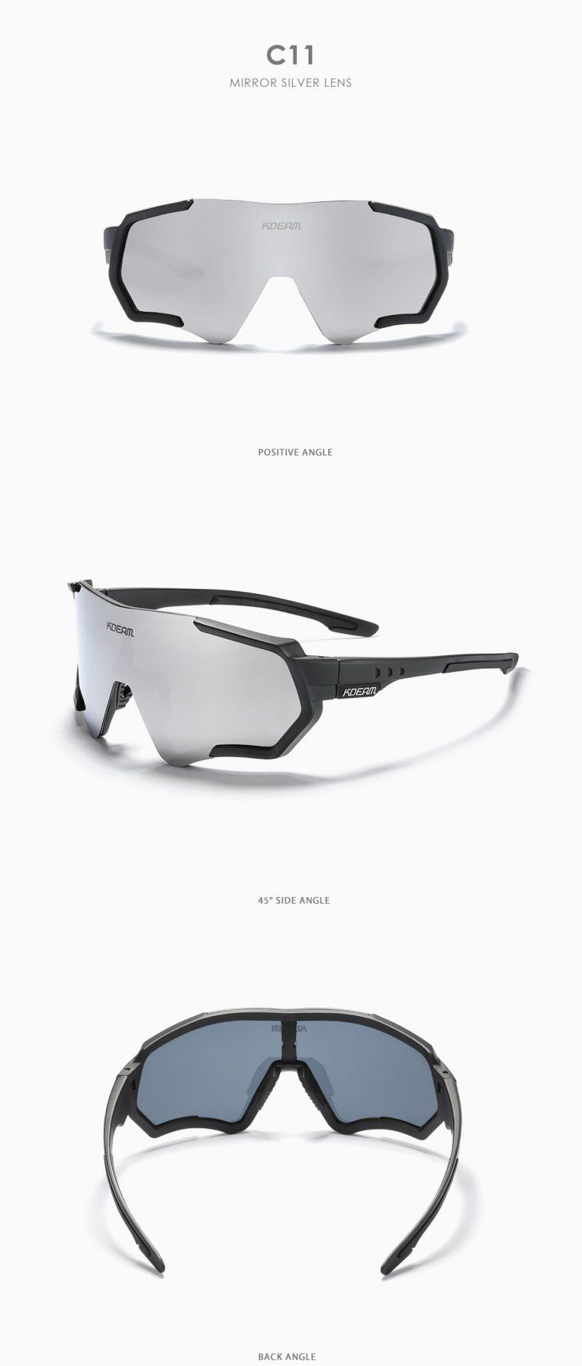 Outdoor Sports Men's Sunglasses TR90 Polarized