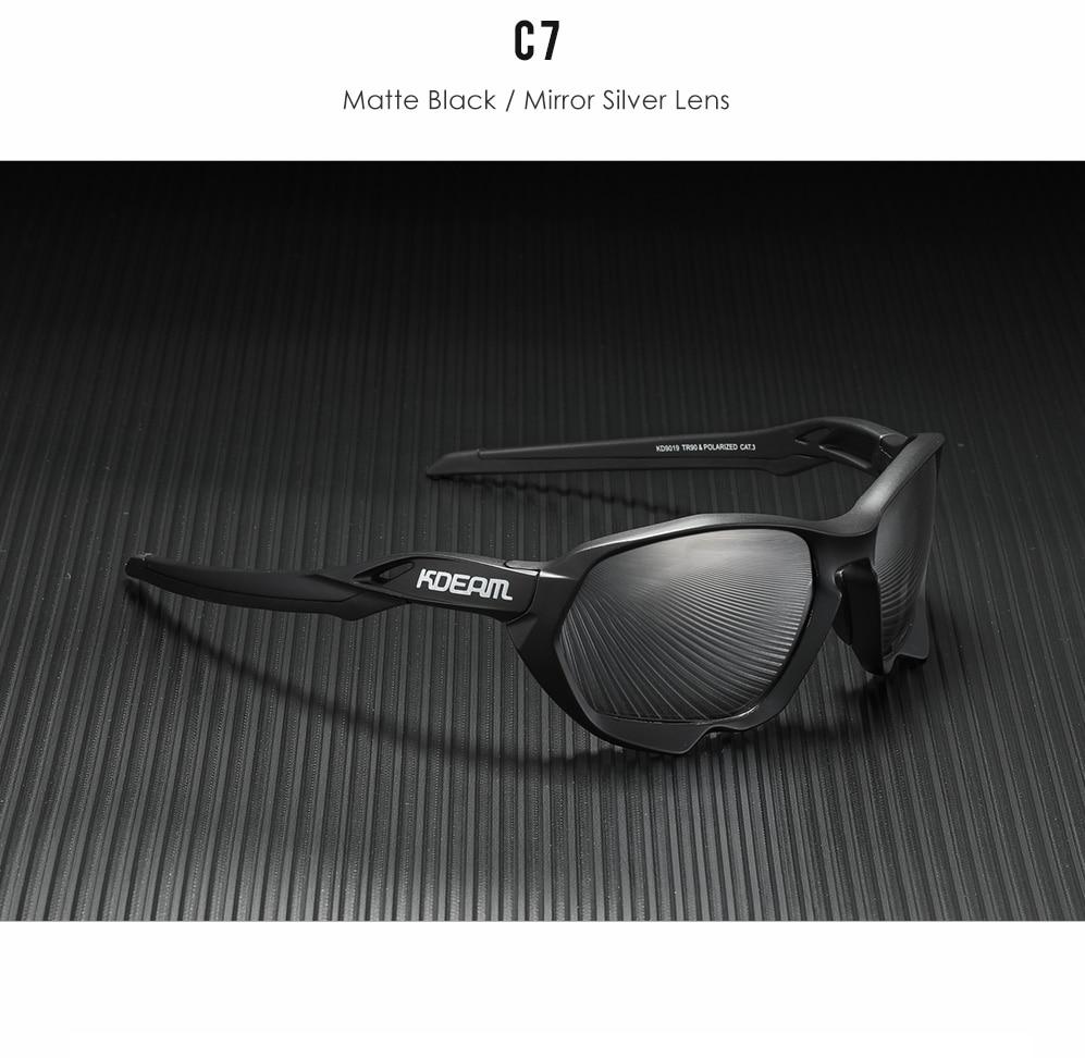Geometrical Polarized Sunglasses