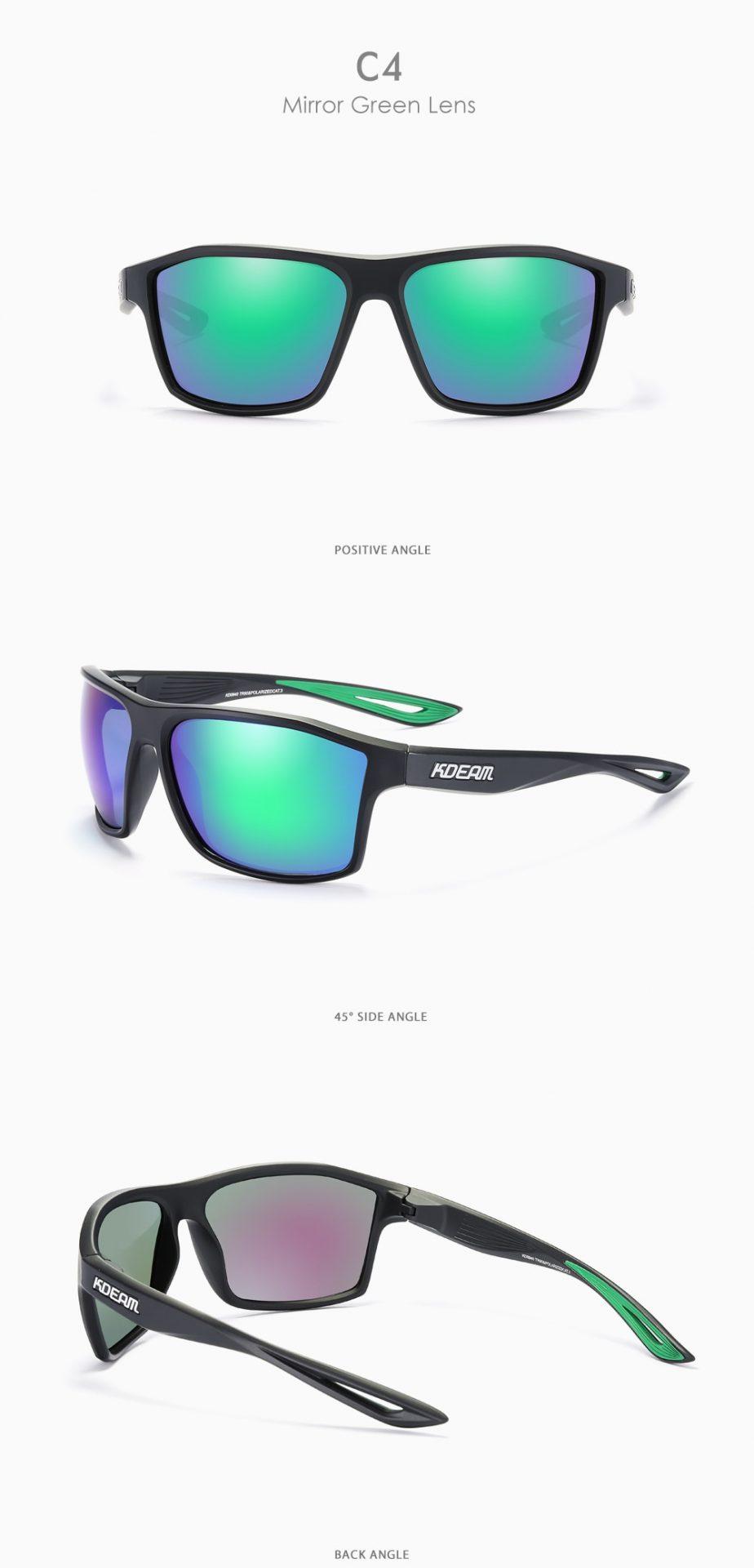 Outdoor Lifestyles Men's Sunglasses Polarized Square